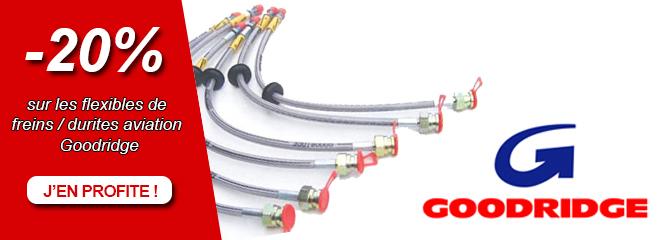 Promo flexibles de freins GOODRIDGE