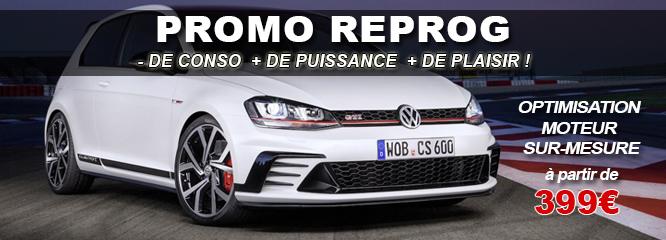 Promo reprogrammation moteur