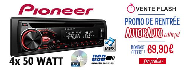 Promo autoradio Pioneer