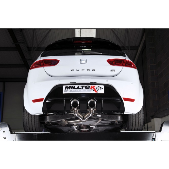 milltek seat leon cupra r ligne apr s catalyseur origine avec silencieux intermediaire. Black Bedroom Furniture Sets. Home Design Ideas