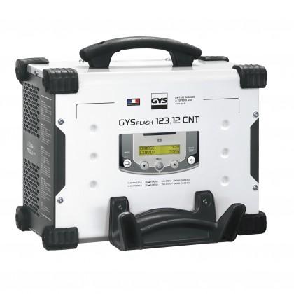 Chargeur GYSFLASH 123.12 CNT FV (câbles 5 m) - GYS