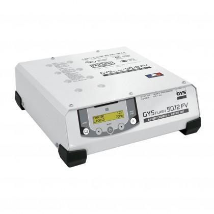 Chargeur GYSFLASH 50.12 HF FV (câbles 2,5 m) - GYS