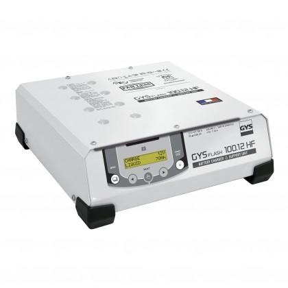 Chargeur GYSFLASH 100.12 HF (câbles 5 m) - GYS