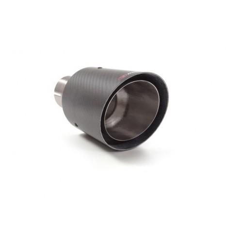 Embout d'échappement Ragazzon – Sortie ronde Carbon Shot 90 mm