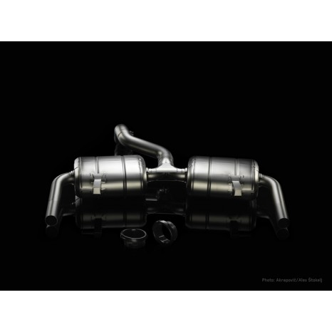 AKRAPOVIC - Clio 3 RS - Slip On Homologué