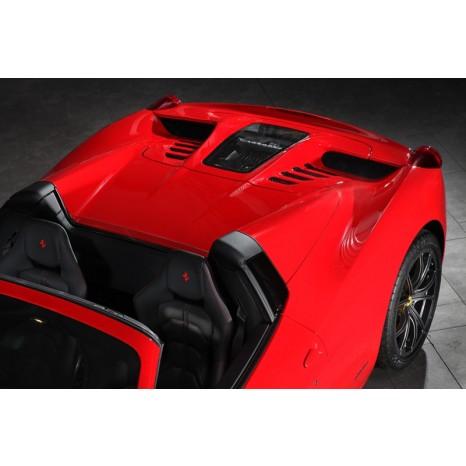 Capot moteur CAPRISTO - Ferrari 458 Italia