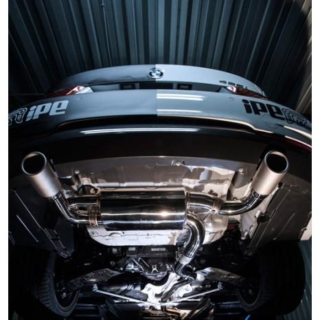 IPE - INNOTECH - BMW 435i F32- SILENCIEUX INOX AVEC VALVES