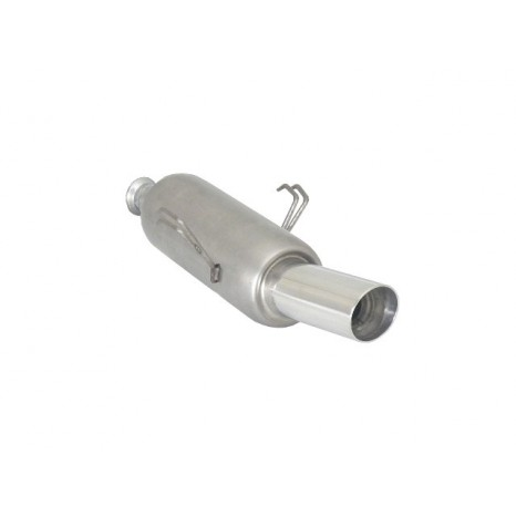 RAGAZZON - Silencieux arrière en inox avec 1 sortie ronde Sport Line 90 mm  - Citroen - Saxo - 1.1 (44kW) 1996>>