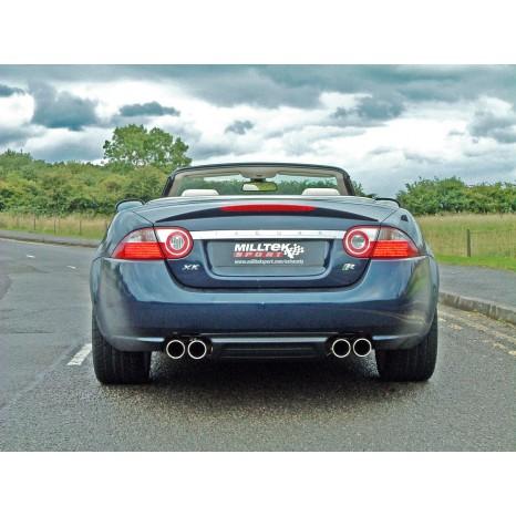 MILLTEK - Jaguar XKR 4.2 V8 - Ligne après catalyseur origine