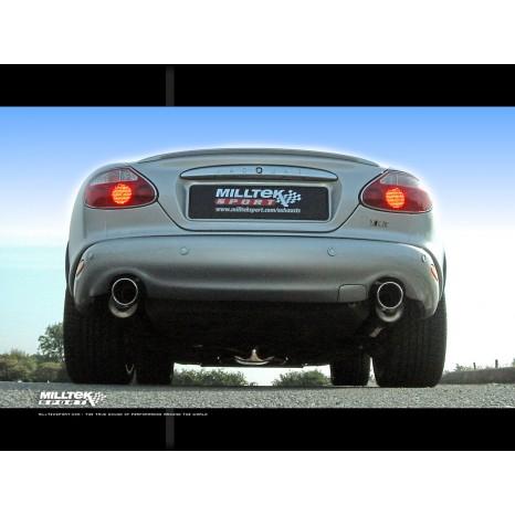 MILLTEK - Jaguar XKR 4.0 V8 - Ligne après catalyseur origine - Avec silencieux Intermediaire