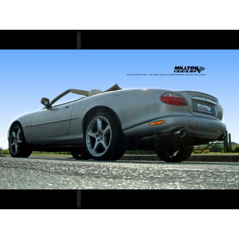 MILLTEK - Jaguar XKR 4.0 V8 - Catalyseurs Hi-Flow