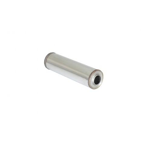 RAGAZZON - Silencieux universal rond en inox 120 mm