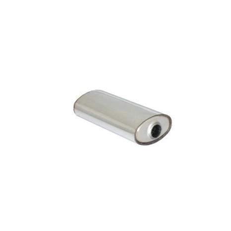 RAGAZZON - Silencieux universal oval en inox 190x110 mm