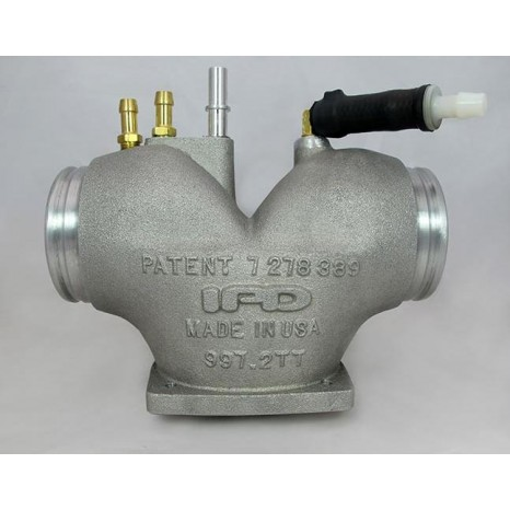 IPD PLENUM - Chambre Admission 74 mm - Porsche 997.2 DFI Turbo