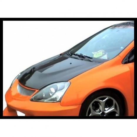 Capot Carbone Honda Civic '03 C/T