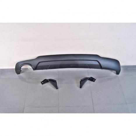 Deflecteur Arriere Mercedes W204 07-13 Look AMG 1 Sortie ABS