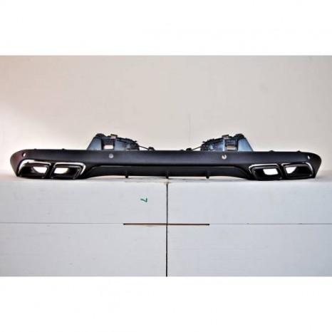 Deflecteur Arriere Mercedes W205 4P / SW Look C63 ABS