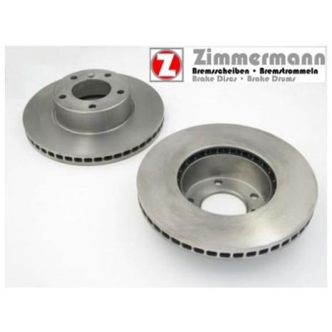 Disque de frein AV ZIMMERMANN - Porsche Cayenne - V-350 X 34 X 68,75