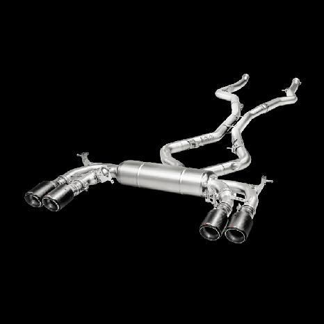 AKRAPOVIC - BMW X6 M (F86)- Ligne Evolution Titane