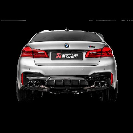 Ligne Evolution Titane AKRAPOVIC (Sans les sorties) - BMW M5 / M5 Compétition F90
