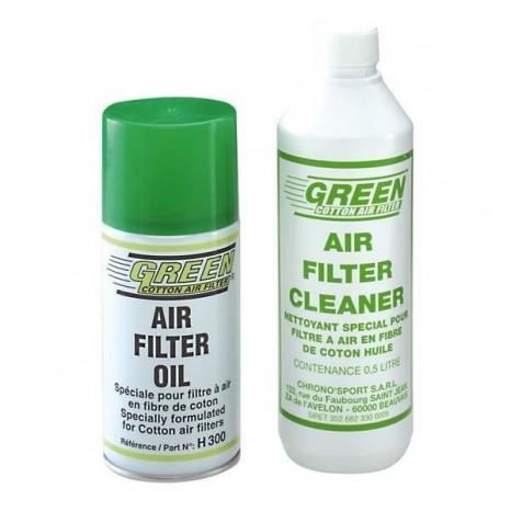Kit de nettoyage GREEN pour filtres à air - 300ml