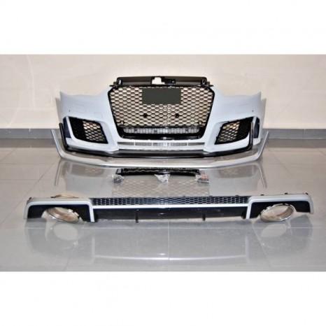 Kit De Carrosserie Audi A3 V8 13-15 4 Porte Look RS3