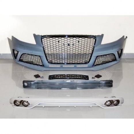 Kit De Carrosserie Audi A4 09-12 B8 Look RS4 ABS