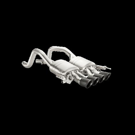 Slip On (Titane) AKRAPOVIC - Chevrolet Corvette Z06 (C7) 2014 -> 2018
