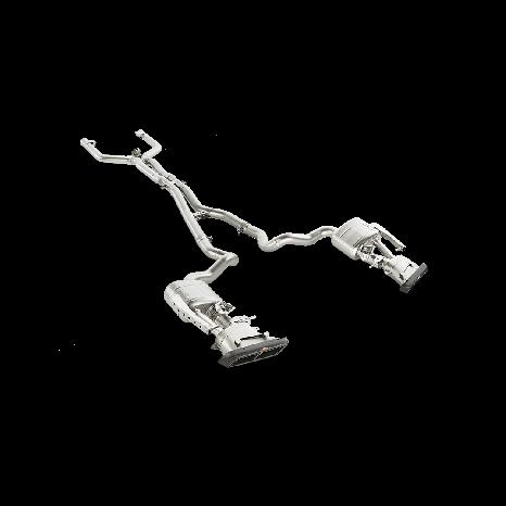 Ligne Evolution (Titane) AKRAPOVIC - Mercedes-AMG C 63 Sedan (W205) 2015 -> 2018