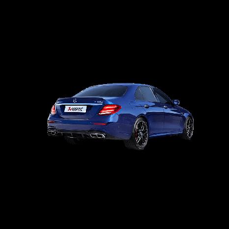 Ligne Evolution (Titane) AKRAPOVIC - Mercedes-AMG E 63 / E 63 S (W213) 2017 -> 2018