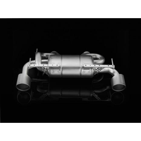 AKRAPOVIC - Nissan 370Z - Slip On Inox (Sans les sorties)