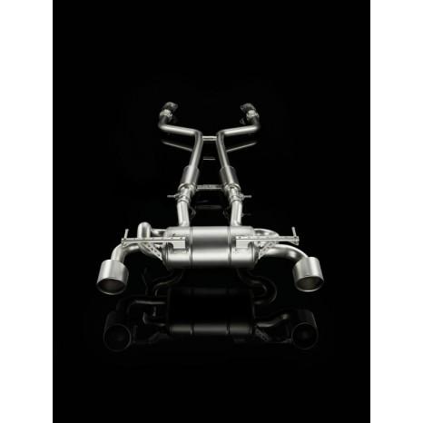 AKRAPOVIC - Nissan 370Z - Ligne Evolution Inox (Sans les sorties)