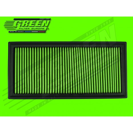 Filtre à air GREEN - Porsche Cayenne 955 - Turbo 450 cv  (2 filtres requis)