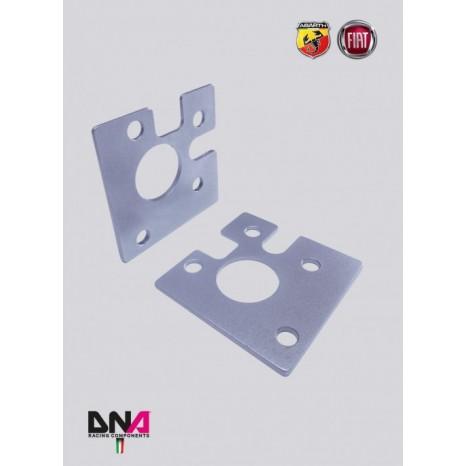 FIAT 500 Kit plaques négative - DNA RACING