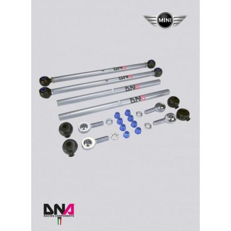 MINIKit de tiges de suspension arrières réglables (2 pièces) - DNA RACING