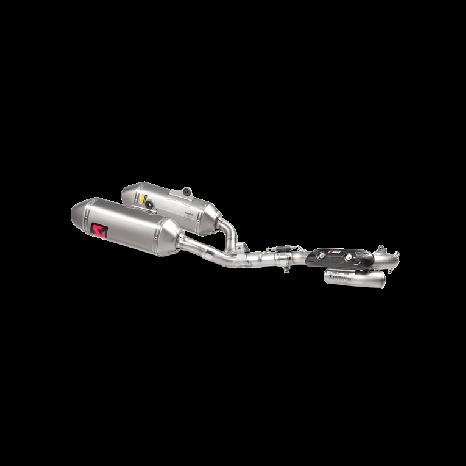 Ligne Evolution Akrapovic en titane pour Honda CRF 250 R (2016 -> 2017)