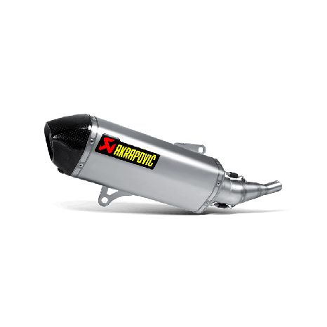 Silencieux Slip On Akrapovic en inox pour Yamaha X-CITY 250 (2007 -> 2016)