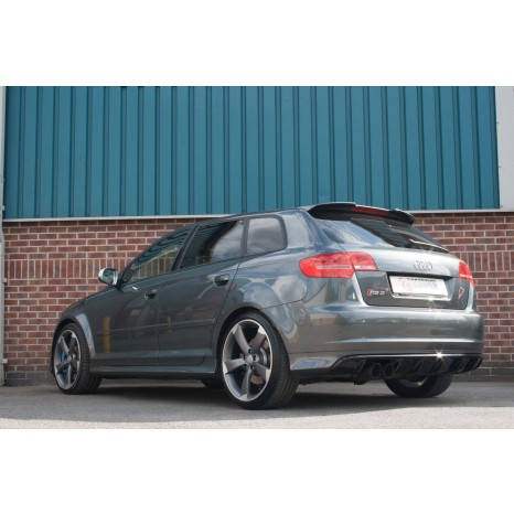 Décata SCORPION - Audi RS3 8P 2011 -> 2012 - Sorties Daytona 90mm black ceramic