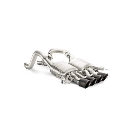 AKRAPOVIC - Corvette Z06 Stingray - Slip On silencieux titane avec clapets