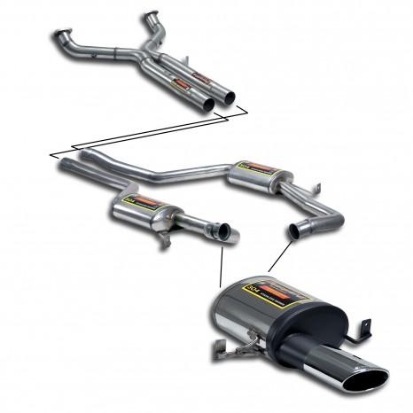 Système d'échappement sportif SUPERSPRINT - PORSCHE 928 GTS