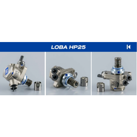 Pompe à essence HP25 Loba 2.5L TFSI