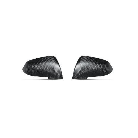 Carbon Fiber Mirror Cap Set - Matte AKRAPOVIC - BMW M2 (F87) 2016 -> 2017