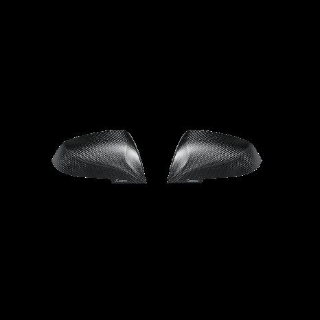 Carbon Fiber Mirror Cap Set - Matte AKRAPOVIC - BMW M2 (F87) 2016 -> 2017
