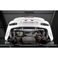 MILLTEK - Porsche 911 997.2 Turbo/Turbo S - Ligne après catalyseurs origine - Silencieux Road