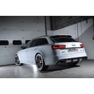 MILLTEK - Audi RS6 C7 4.0 TFSi Bi Turbo Quattro - Ligne Complète - Avec Catalyseur Sport Hi-Flow - sans silencieux intermediaire - Avec systeme ValveSonic