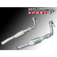 MILLTEK - Audi RS6 V8 Bi-Turbo - Catalyseur Sport Hi-Flow 200CPSI