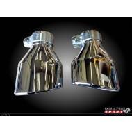 MILLTEK - Audi RS6 V8 Bi-Turbo - Ligne après catalyseur origine - Sans silencieux Intermediaire - Sorties Special