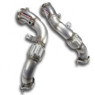 SUPERSPRINT - Turbo downpipe kit - BMW E70 X5 M V8 Bi-Turbo