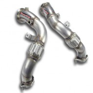 SUPERSPRINT - Turbo downpipe kit - BMW E71 X6 M V8 Bi-Turbo