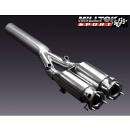 MILLTEK - BMW 5 Series (E39) M5 5.0 V8 - Catalyseur Sport Hi-Flow